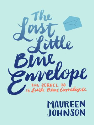 cover image of The Last Little Blue Envelope