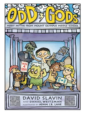 cover image of Odd Gods