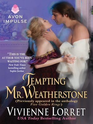 cover image of Tempting Mr. Weatherstone