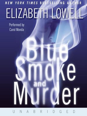 cover image of Blue Smoke and Murder