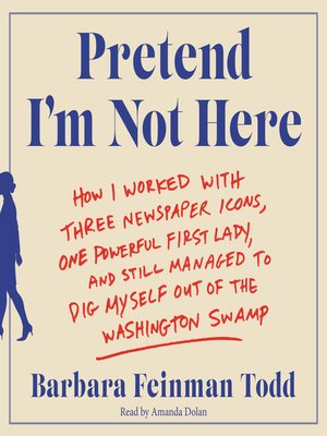 cover image of Pretend I'm Not Here