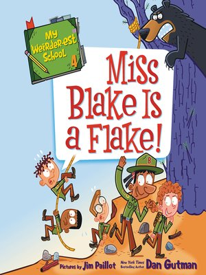 cover image of Miss Blake Is a Flake!