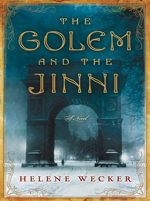cover image of The Golem and the Jinni