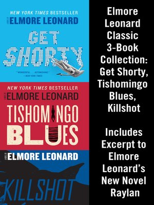 cover image of Elmore Leonard Classic 3-Book Collection