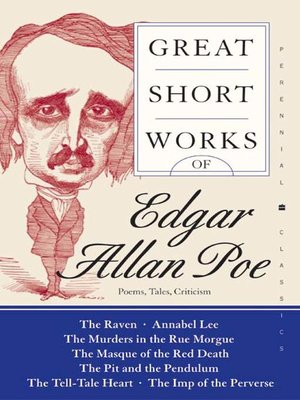 cover image of Great Short Works of Edgar Allan Poe