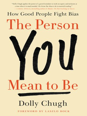 cover image of The Person You Mean to Be
