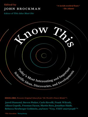 cover image of Know This