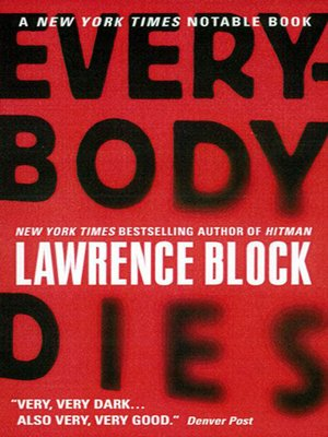 cover image of Everybody Dies