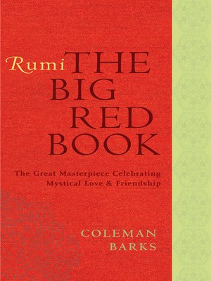 cover image of Rumi: The Big Red Book