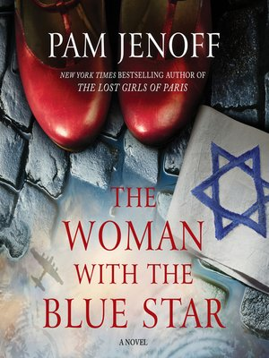 cover image of The Woman with the Blue Star