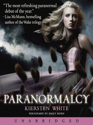 cover image of Paranormalcy