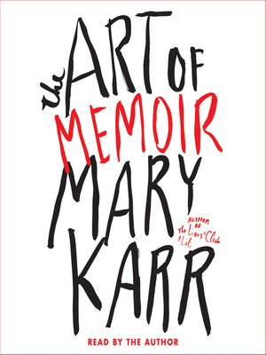 cover image of The Art of Memoir