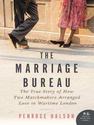 cover image of The Marriage Bureau