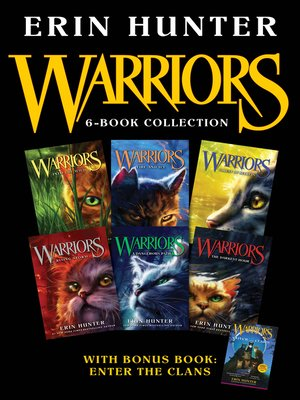 cover image of Warriors 6-Book Collection with Bonus Book