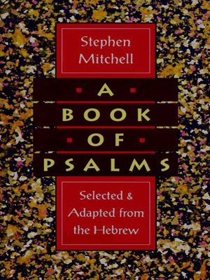 cover image of A Book of Psalms