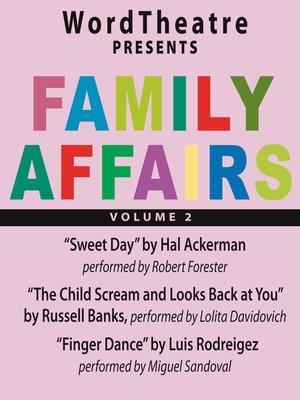 cover image of Family Affairs, Volume 2