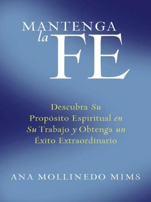 cover image of Mantenga la Fe