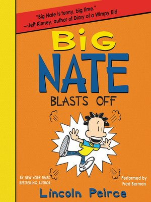 cover image of Big Nate Blasts Off