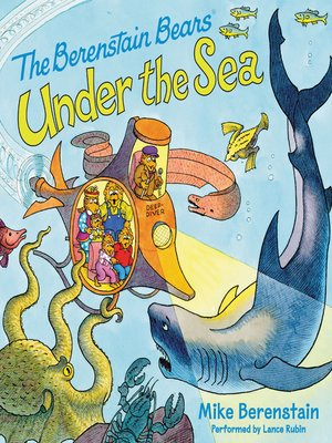 cover image of Berenstain Bears Under the Sea