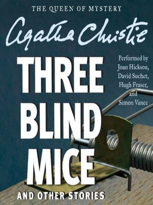cover image of Three Blind Mice and Other Stories