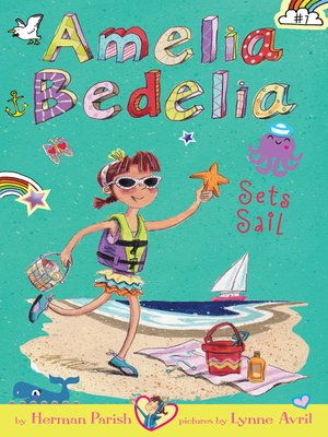 cover image of Amelia Bedelia Sets Sail