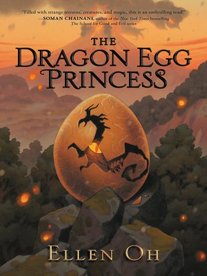 cover image of The Dragon Egg Princess