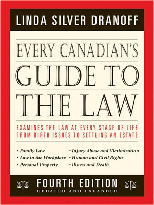 cover image of Every Canadian's Guide to the Law