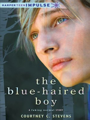 cover image of The Blue-Haired Boy