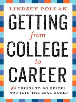 getting from college to career free pdf