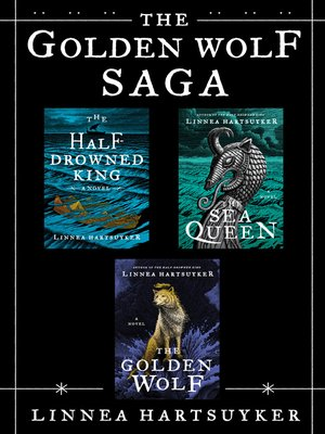 cover image of The Golden Wolf Saga