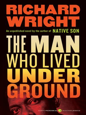cover image of The Man Who Lived Underground