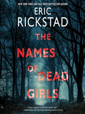cover image of The Names of Dead Girls