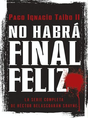 cover image of No habra final feliz