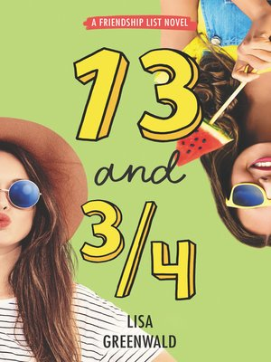 cover image of 13 and 3/4