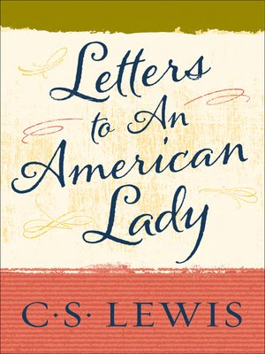 cover image of Letters to an American Lady