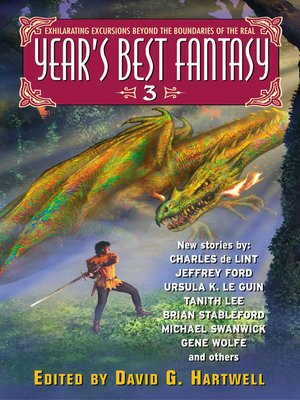 cover image of Year's Best Fantasy 3
