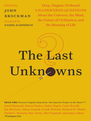 cover image of The Last Unknowns
