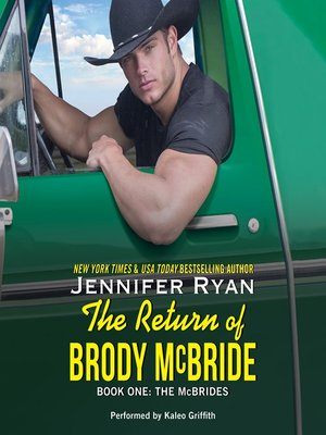 cover image of The Return of Brody McBride