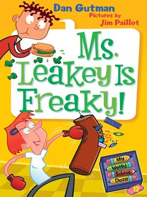 cover image of Ms. Leakey Is Freaky!