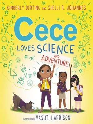 cover image of Cece Loves Science and Adventure