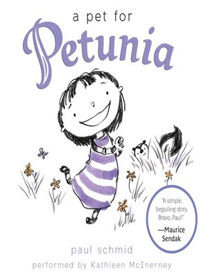 cover image of A Pet for Petunia
