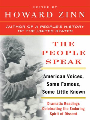 cover image of The People Speak