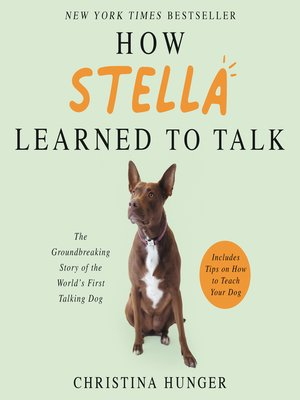cover image of How Stella Learned to Talk