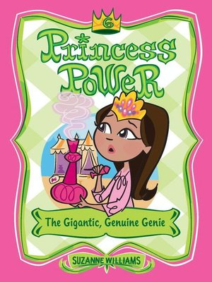 cover image of The Gigantic, Genuine Genie