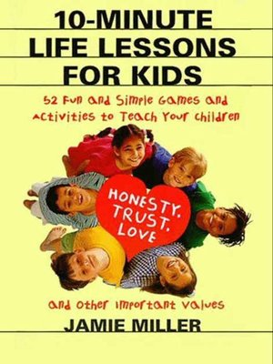 cover image of 10-Minute Life Lessons for Kids