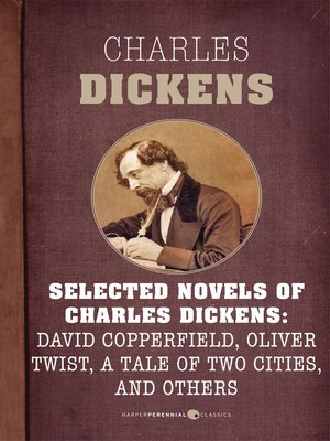 cover image of Selected Novels of Charles Dickens