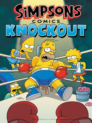 cover image of Simpsons Comics Knockout
