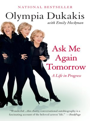 cover image of Ask Me Again Tomorrow