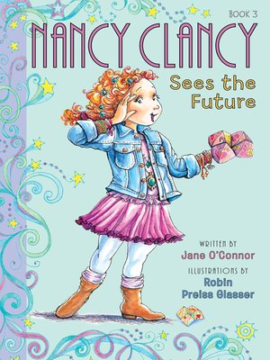 cover image of Nancy Clancy Sees the Future