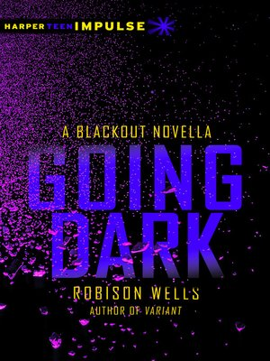 cover image of Going Dark